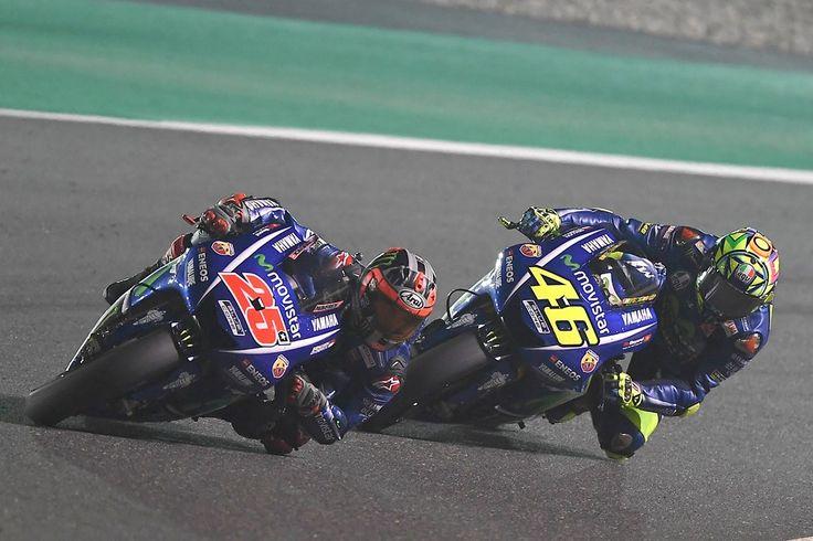 """MotoGP – Maverick Viñales: """"Nem queria acreditar que tinha Rossi atrás de mim"""""""