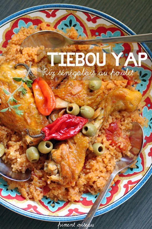 Tiebou yap, riz sénégalais au poulet