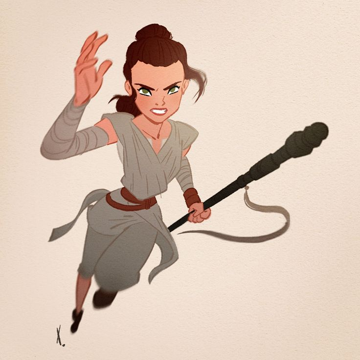 """xavierramonede: """"I've seen STAR WARS VII today and I really liked it ! Rey is definitly a great character ! """""""