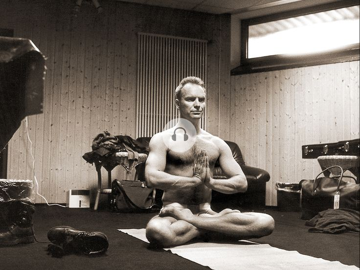 Sting yoga before the stage