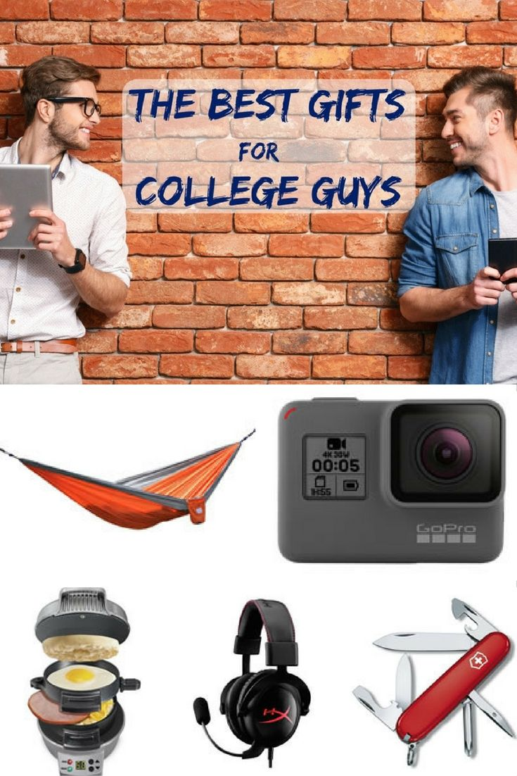 The Best Gifts for College Guys