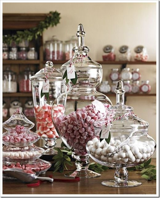 Christmas Decorating Ideas For Glass Jars : Best images about dishes mugs glasses on