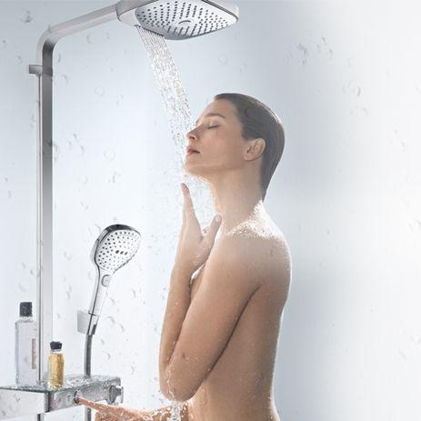 Griferia de ducha Hansgrohe Select, Grifos de diseño, Tono Bagno Barcelona