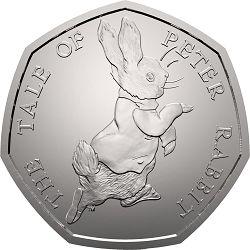 2017 Peter Rabbit 50p Coin - Change Checker