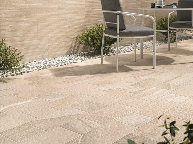 Pavimento / rivestimento per esterni in gres porcellanato RE-WORK by ABK Industrie Ceramiche