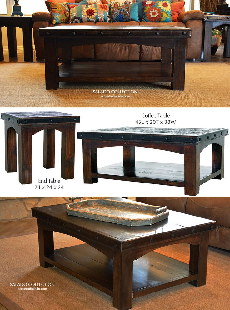 Attractive Western Style Tables Salado Collection Online.
