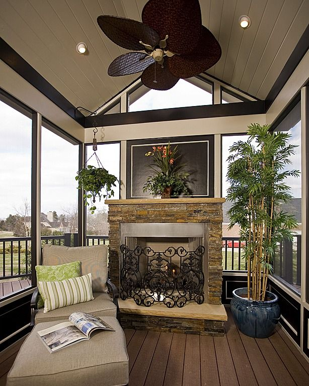 Tropical Porch - Come find more on Zillow Digs!