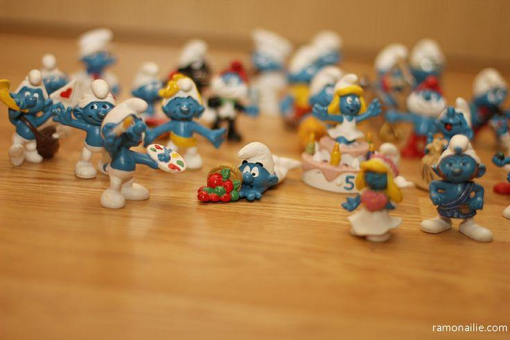 Day 169 - Sara's Smurfs :)