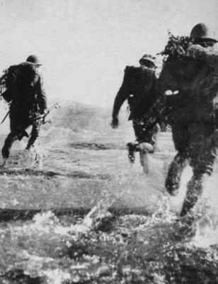 japanese infantry assault (indochina 1940)