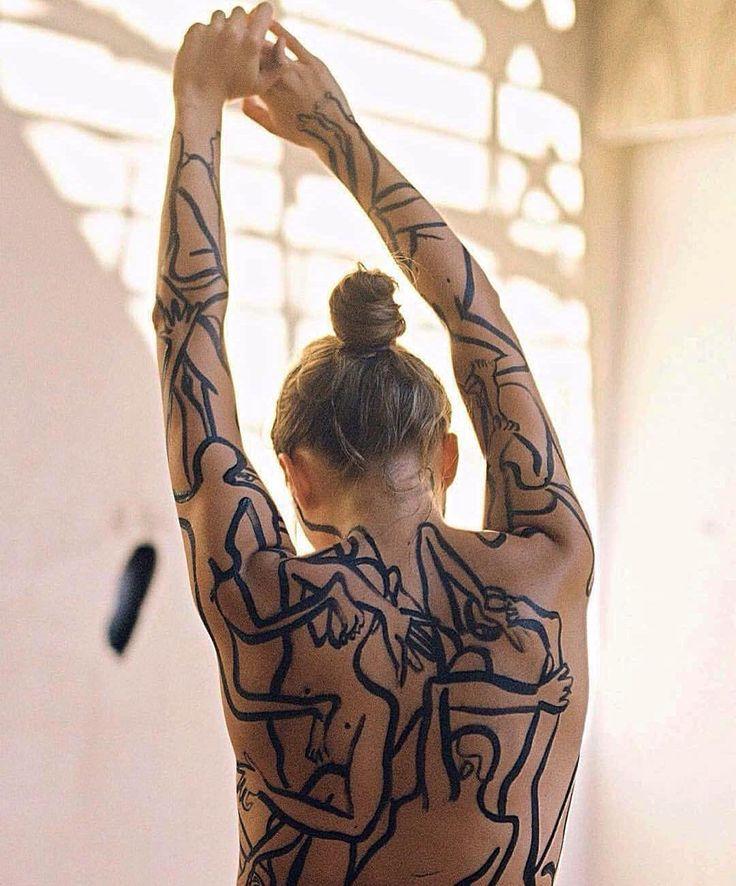Ph. by @vitalikmelnikovv body art Masha Reva @lvovnasonia