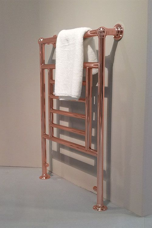Traditional Copper Towel Rails & Copper Plated Towel Radiators - UK Suppliers