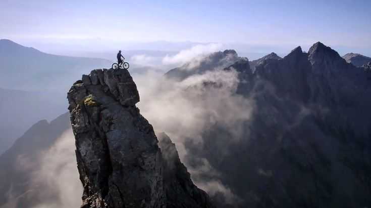 The Ridge: Danny MacAskill on the Edge of Cliffs.. #adventure #adventures365 #cycling #india #TheRidge #DannyMacAskill