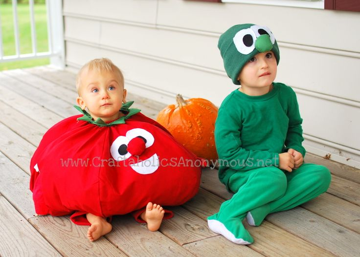 tomato and cucumber costumes - Cute Ideas For Halloween
