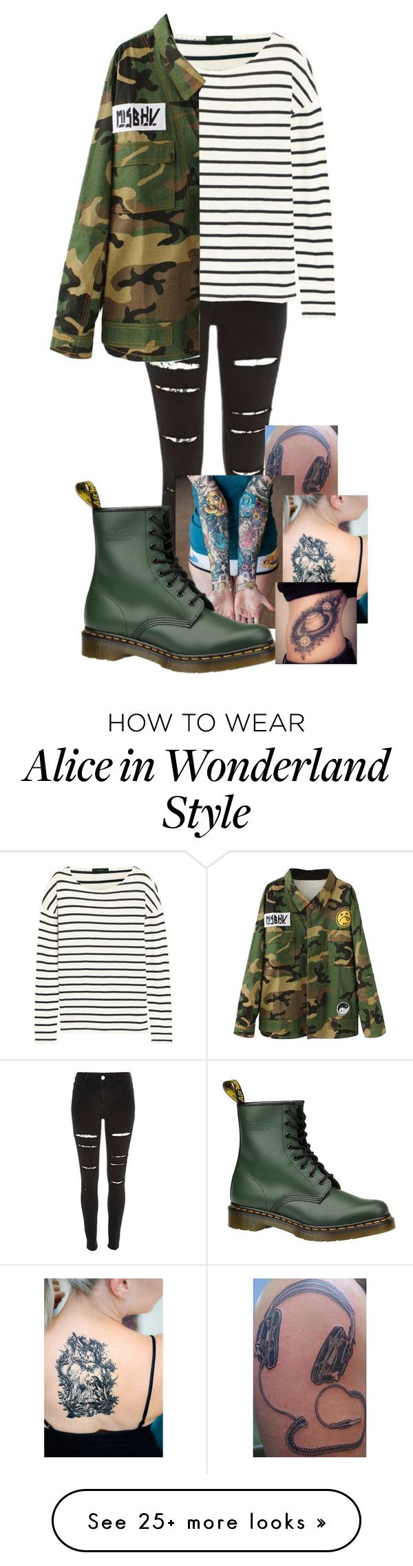 """""""Untitled #307"""" by londoner6401 on Polyvore featuring River Island, J.Crew and Dr. Martens"""