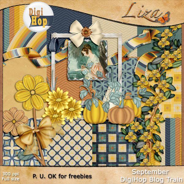 Liza's Home: September DigiHop