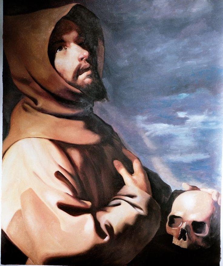 Francisco Zurbarán's The Ecstasy of St. Francis