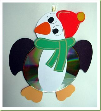 Speedy Creativa: Pinguino CD per Natale!!!