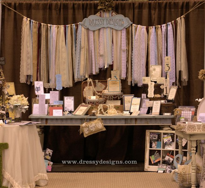 bridal show booth display