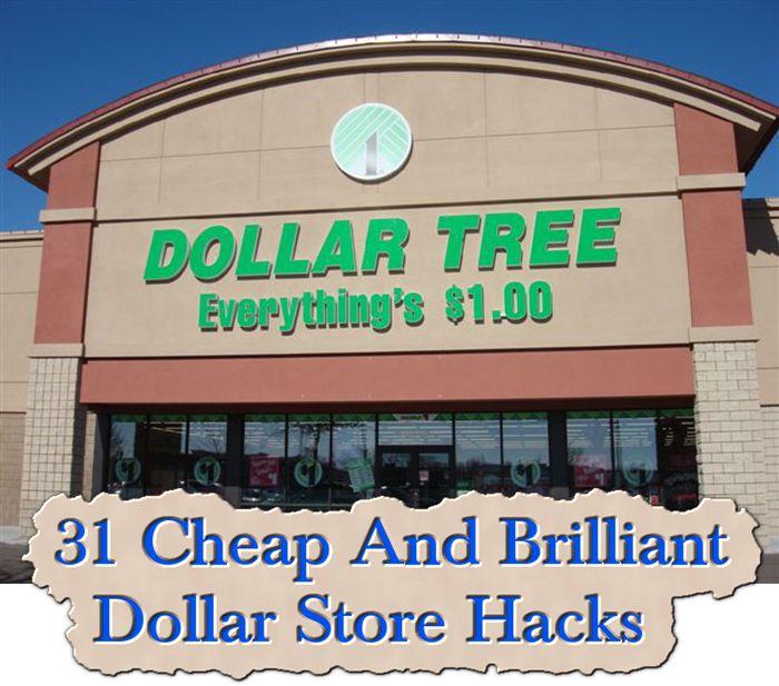 31 Cheap And Brilliant Dollar Store Hacks