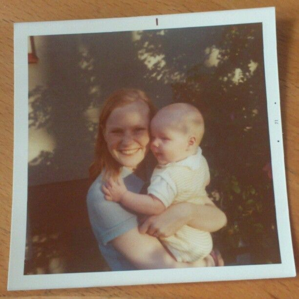 Me and my mother. No Instagram effect was needed for that picture since it already had that vintage look ;)