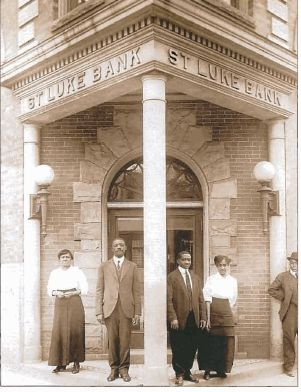 The St. Luke Penny Savings Bank was founded in 1903 by Maggie Lena Walker. Walker holds the distinction of being the first African-American woman to establish and serve as president of a bank in the U.S.