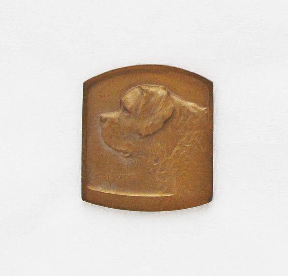 Antique Belgian Dog Show Medal by TheGentlemansBlade on Etsy