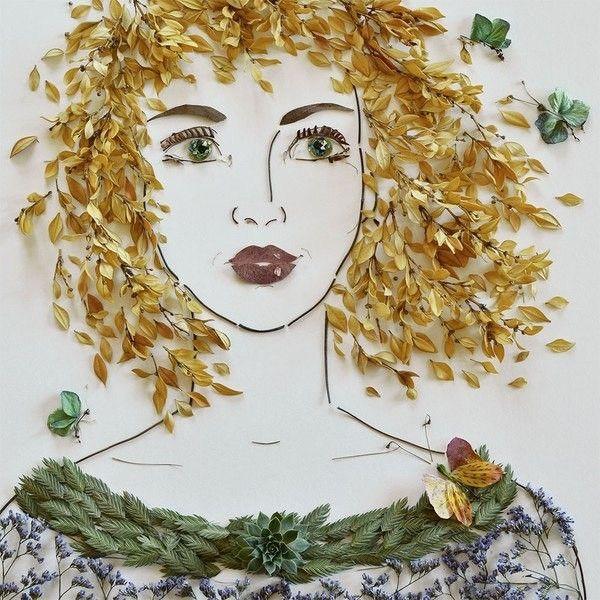 Портрет осени - Настоящая женщина из ничего может сделать Салат, Шляпку и…