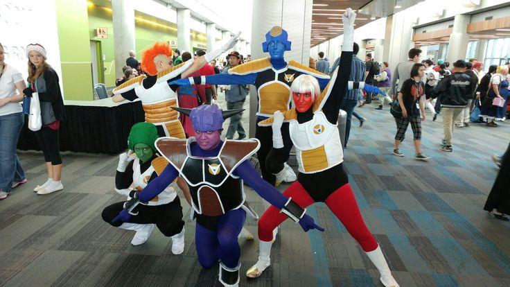 Fuerzas especiales Ginyu cosplay