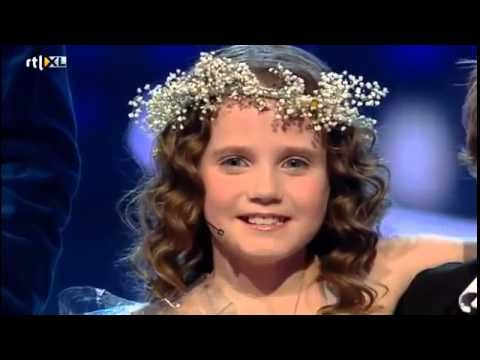 Amira Willighagen semi final song: Ave Maria. Holland's got talent.