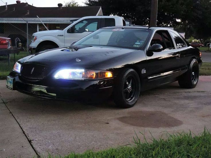 1998 Lincoln Mark VIII twin turbo by Black Mamba Speed | AmcarGuide.com - American muscle car guide