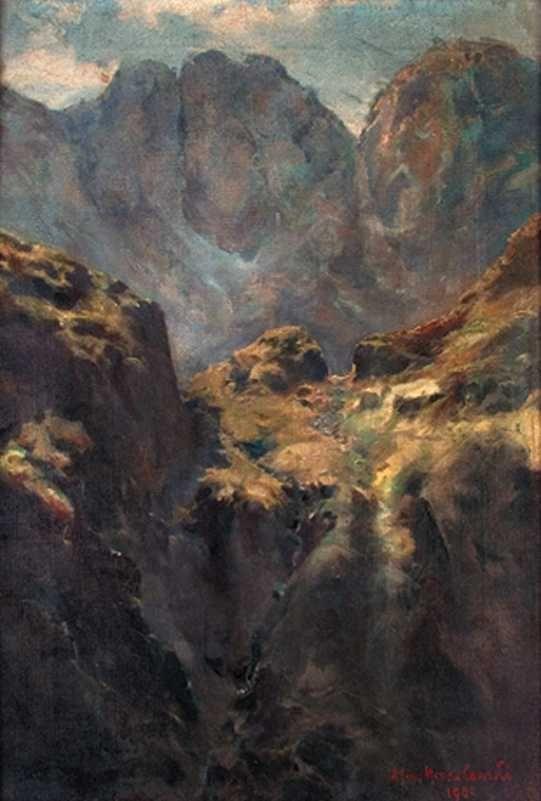 Tatry (Droga do Morskiego przez Zawrat)