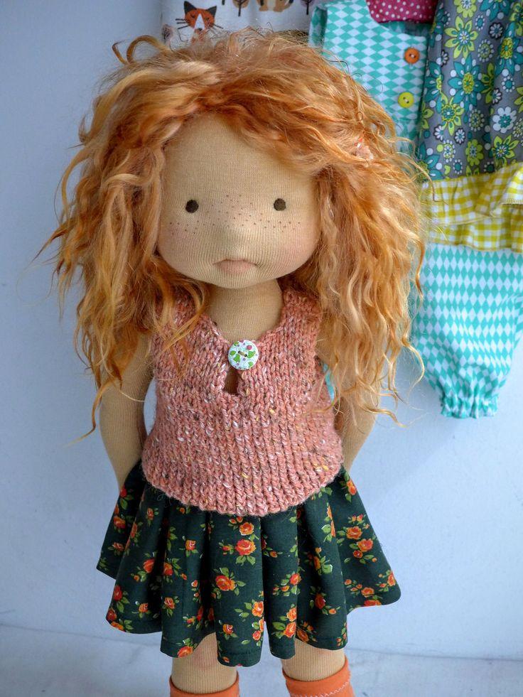 "| Felicity 20"" doll by Dearlittledoll #dearlittledoll #waldorfdolls #handmadedolls #naturaldolls #clothdolls"