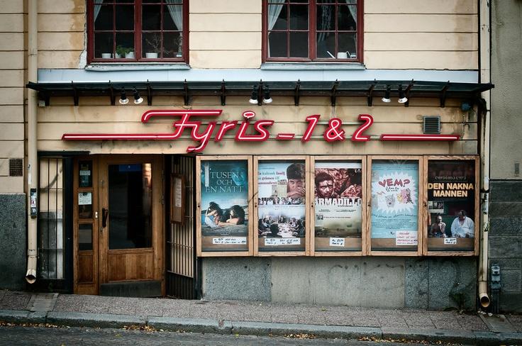 Fyrisbiografen, Uppsala © Klas-Herman Lundgren