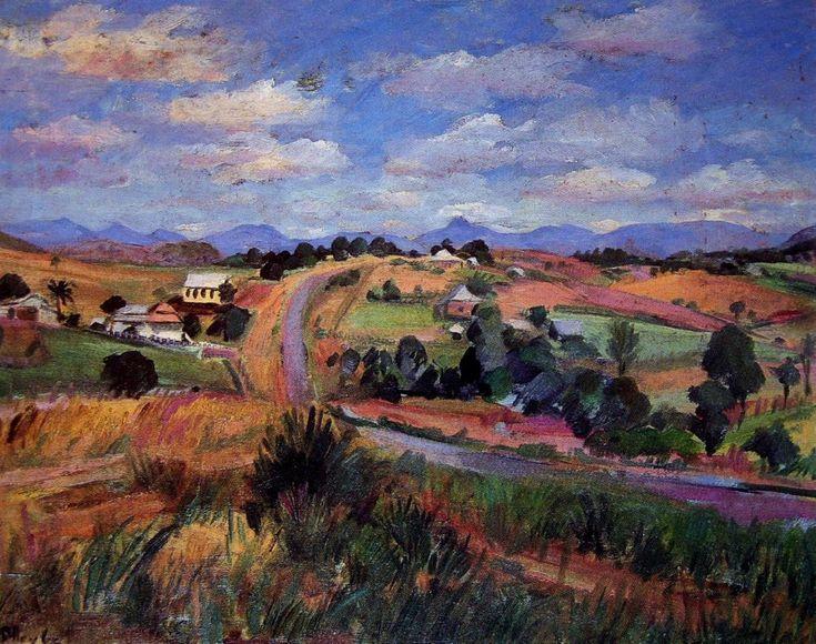 Boonah Landscape, Margret Olley