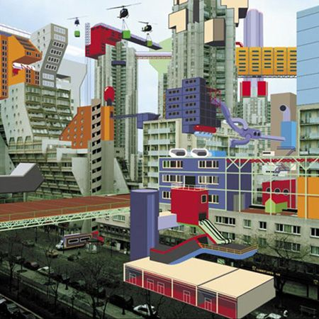 Laboratoire Urbanisme Insurrectionnel: Plug in City- Alain Bublex