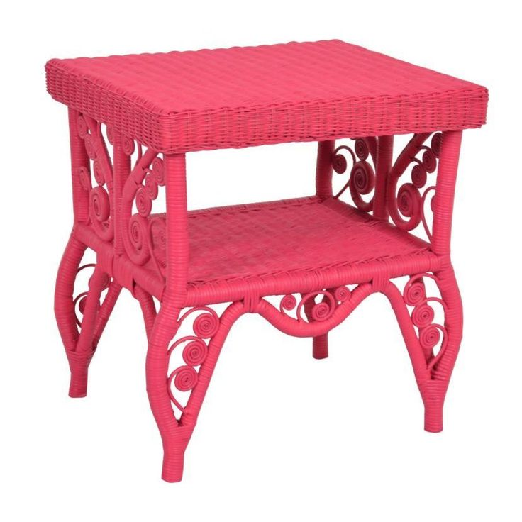 This Bright And Colorful Accent Table Features Intricate Filigree Designs  And Will Bring Contemporary Flair To