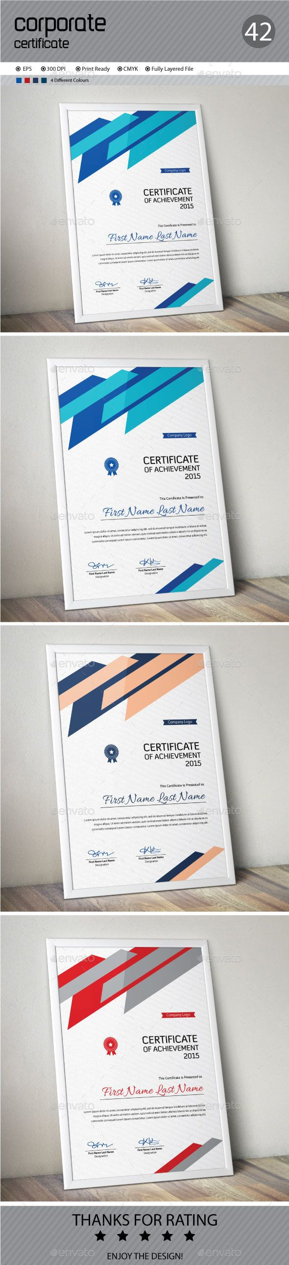 Certificate Template Vector EPS. Download here: http://graphicriver.net/item/certificate/14275424?ref=ksioks
