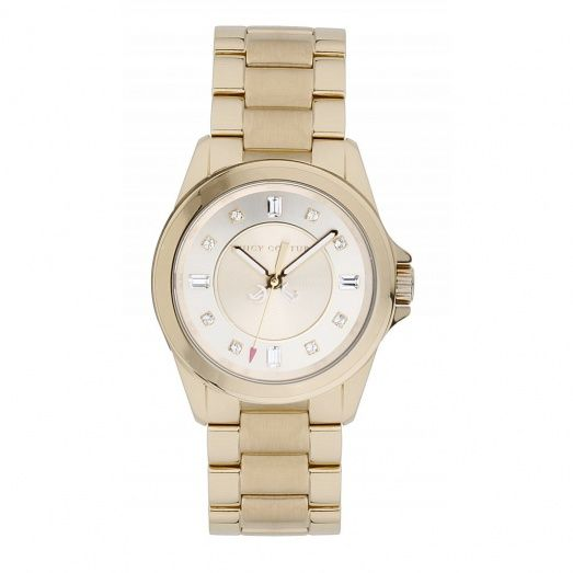 Juicy Couture Ladies' Gold Plated Stella Watch 1901035