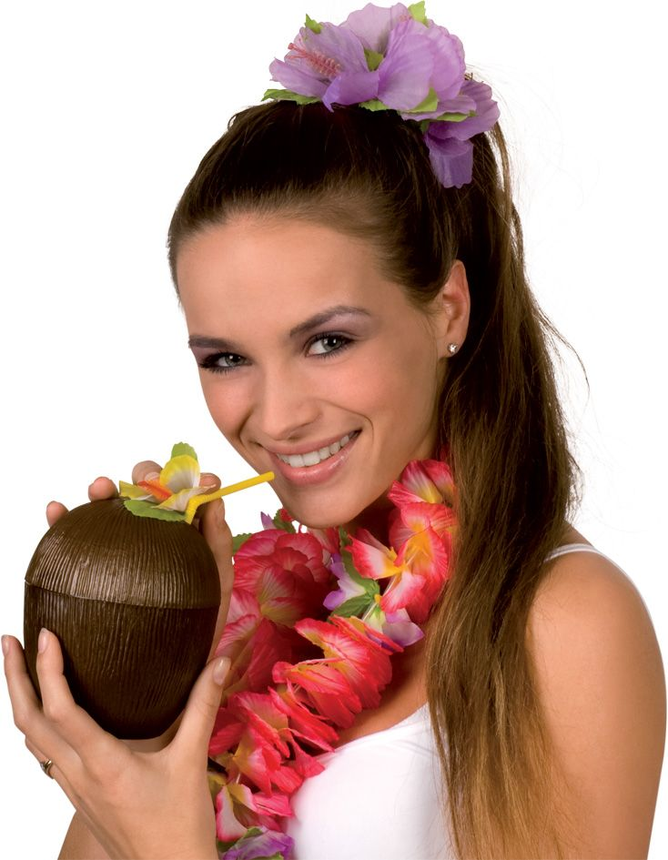 Hawaïaanse kokosnoot : Vegaoo Decoratie