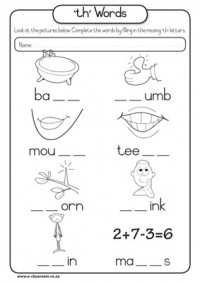 Worksheets Th Digraph Worksheets phonics th lessons tes teach words workshop activities pinterest