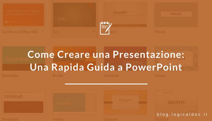 In questa guida trovi le basi per la creazione di una presentazione su PowerPoint. Inizia in pochi clic a creare delle diapositive semplici ed efficaci.