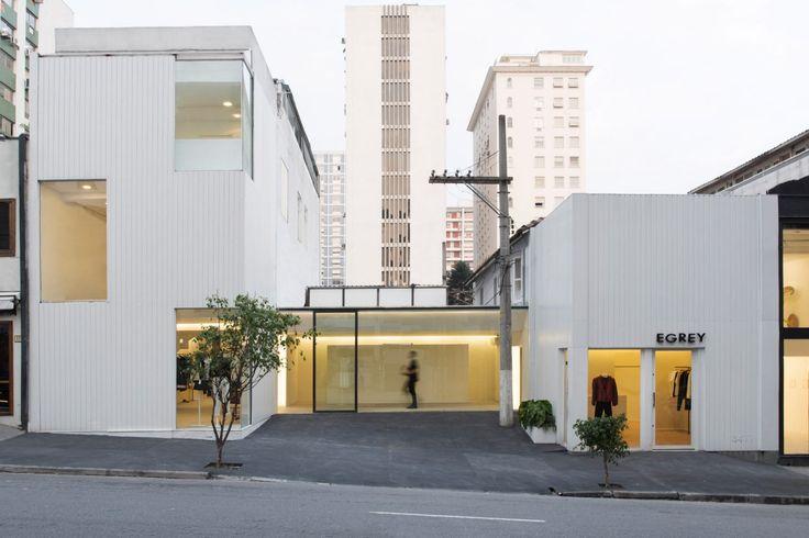 MNMA Studio gives São Paulo fashion store a stark makeover