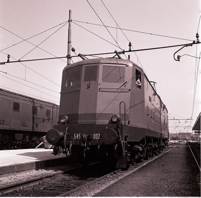 E 645 in stazione by Ferrovie dello Stato Italiane, via Flickr