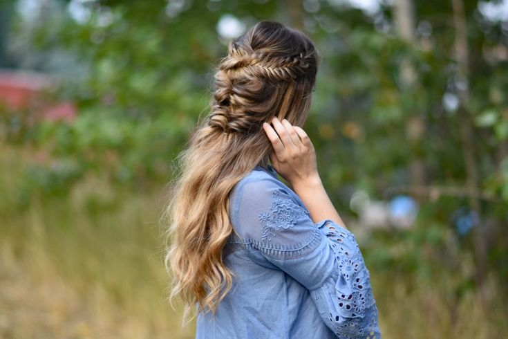 Twisted Fishtail | Cute Girl Hairstyles