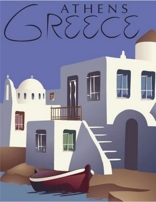 Another vintage Greece poster