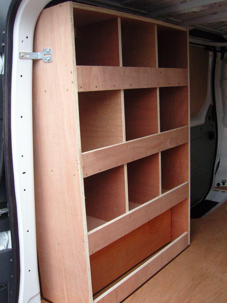 Vauxhall Vivaro SWB - Nearside pigeon hole storage