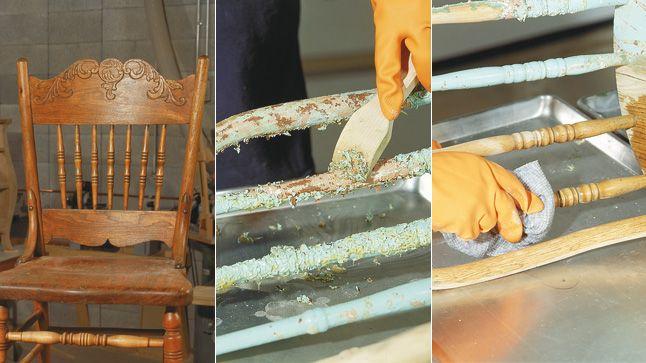 1000 id es sur le th me d capage de peinture sur pinterest for Decaper un meuble en bois vernis