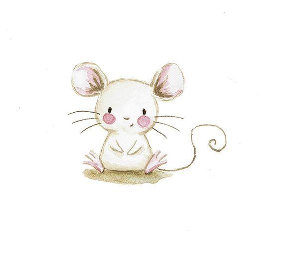 Ilustracion infantil raton