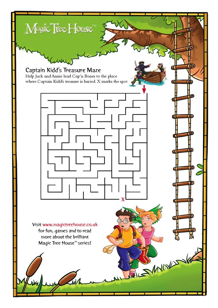 Author Of Magic Treehouse Books Part - 27: Image Detail For -Magic Tree House Maze - Scholastic Book Club