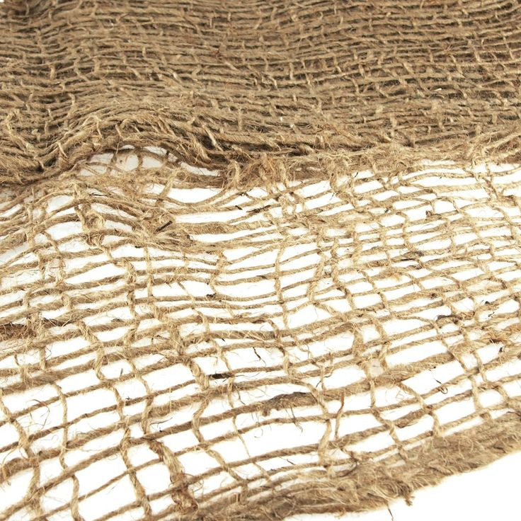 Burlap Mesh Erosion Control Cloth S A Coarse Biodegradable Jute Fabric And Is Used To Prevent Land Erosion And Fo Erosion Control Erosion Retaining Wall Design